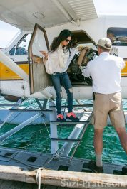 """""""Real Housewives Of Miami"""" Star Adriana De Moura Visits Capture Site Of Orca She's Fighting To Free"""