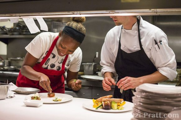 South Meets Pacific Northwest Dinner @ Trace Restaurant with Tif