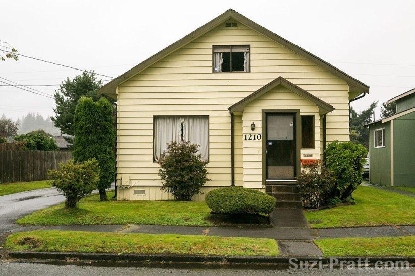 Childhood Home Of Kurt Cobain In Aberdeen, WA