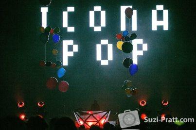 Icona Pop Seattle music photography