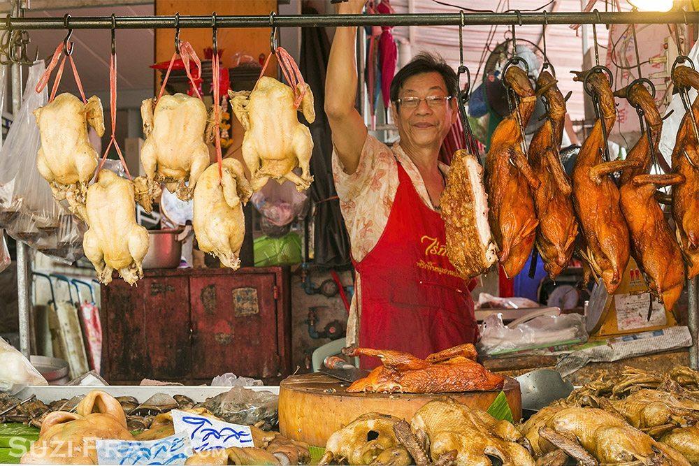 Bangkok Thailand Market Travel Photography