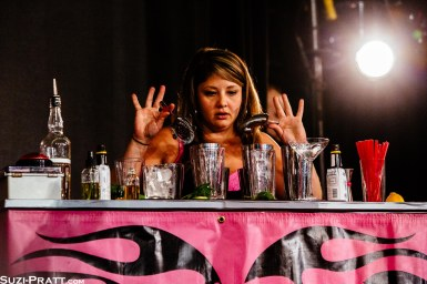 Speed Rack Seattle female bartending competition