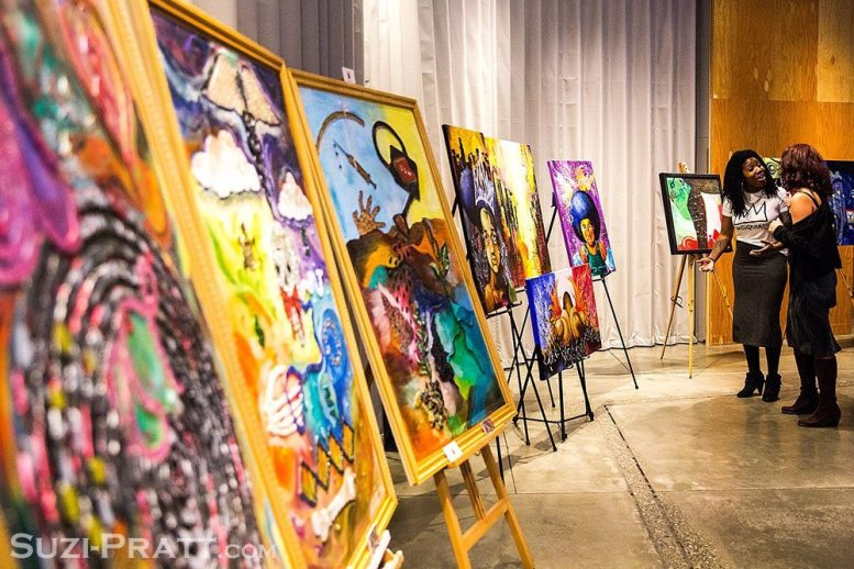 Through the Eyes of Art Black History Month kick-off and The Value of Black Life Hip Hop concert