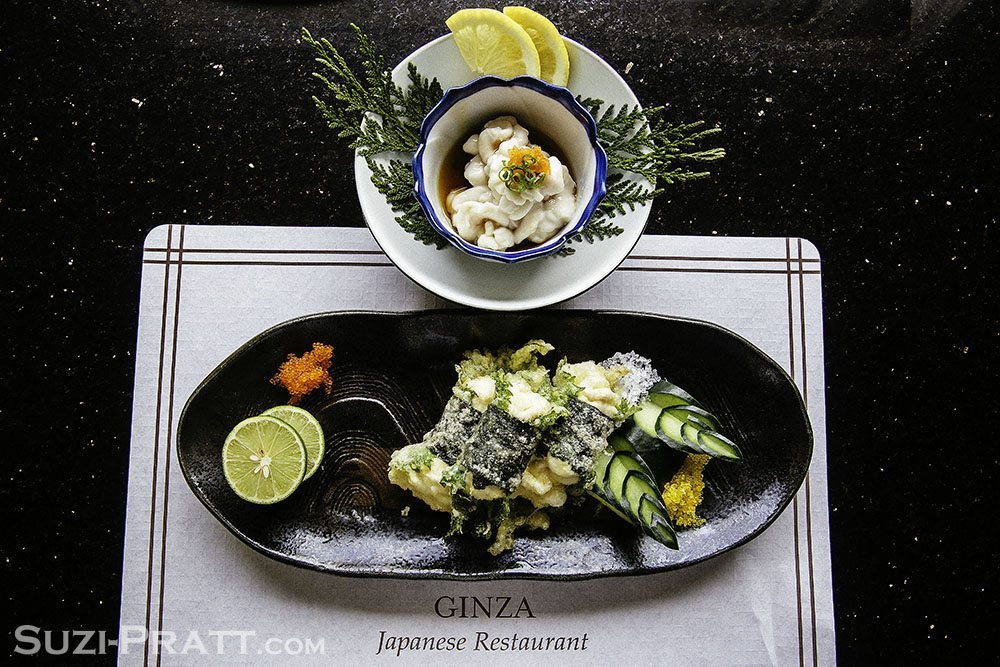Ginza Japanese restaurant Bellevue food photography