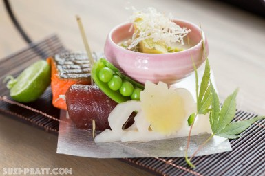 Naka Japanese kaiseki food photography
