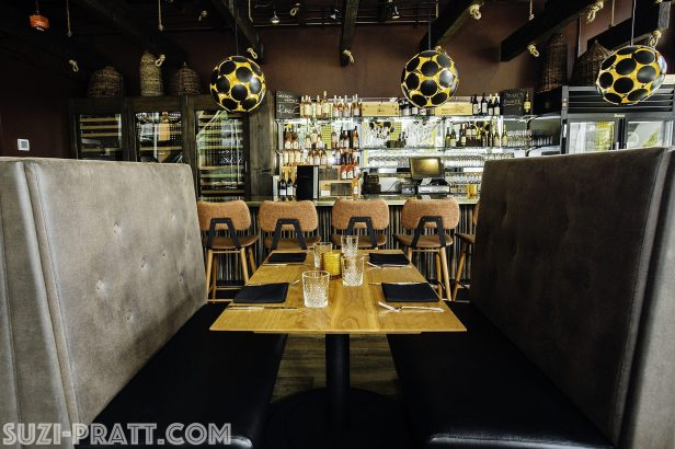 The Carlile Room Seattle restaurant photography