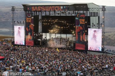 Sasquatch Music Festival photography