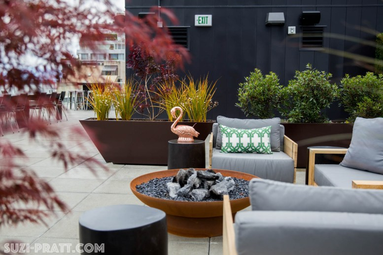 The Nest Seattle Roof top bar