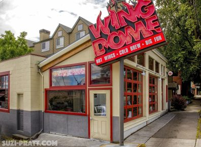 Seattle food photographer The Wing Dome