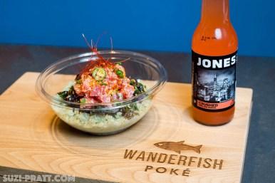 Wanderfish Poke Seattle food photographer