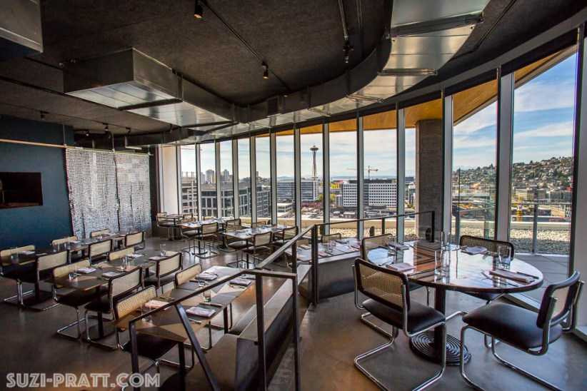 mBar Seattle restaurant photography