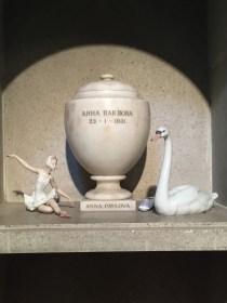 Anna Pavlova's ashes