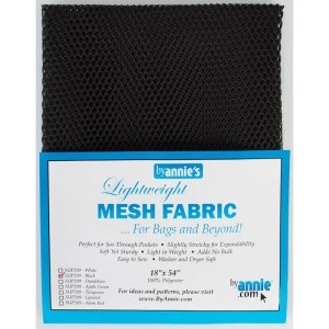 """Mad About Mesh ~ 18"""" X 54"""" Black SUP209-BLACK"""