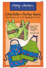 Little Sister & Brother Aprons Pattern MP14