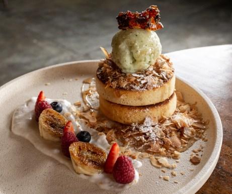 Pancakes Louis Cafe Fitzroy