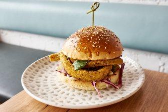 Squid Inc burger Fish and Burger Co
