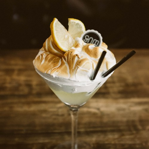 Lemon Meringue Cocktail - Sweetie and Moustache