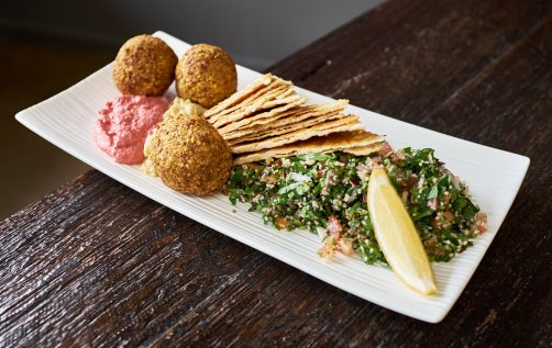 Tabbouleh and Falafel Salad - Earthbound Bolton