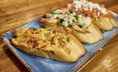 Bruschetta at Food Tales Ormond