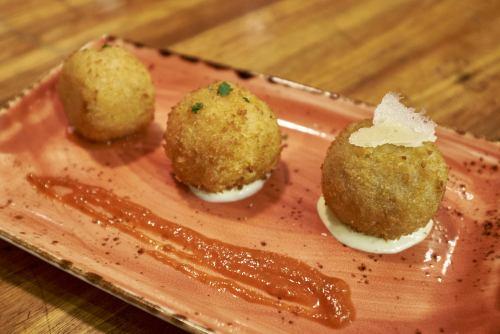 Arancini at Food Tales Ormond