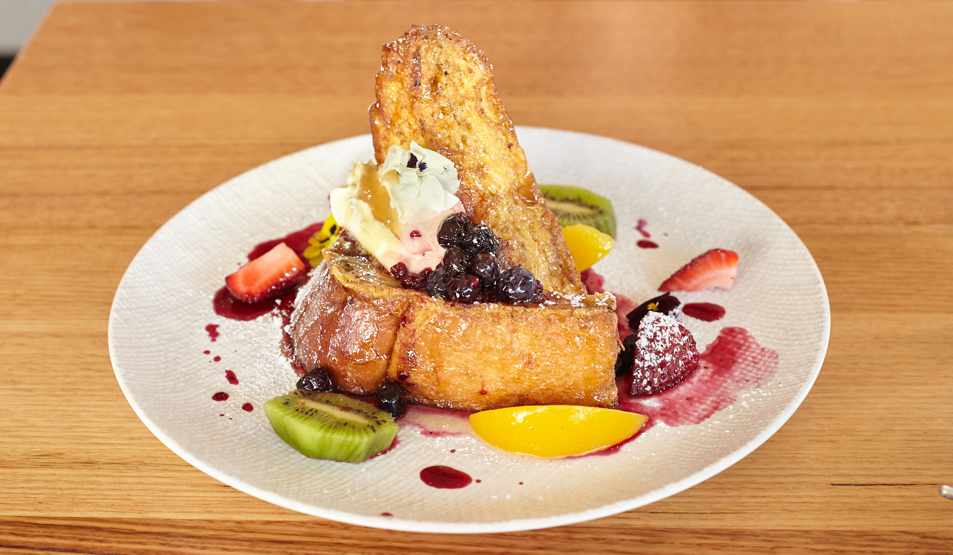French Toast - Jack The Geezer Cafe - Middle Park