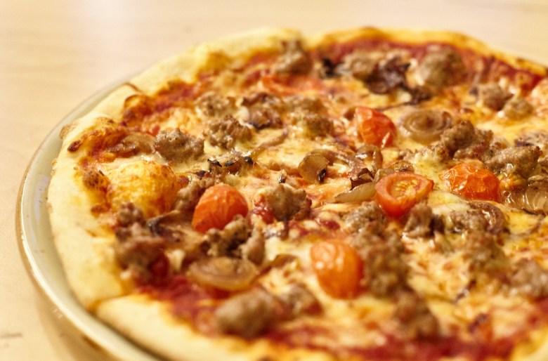 Salsiccia Pizza - Mister Margherita - South Melbourne
