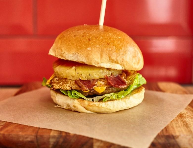 Aussie Burger - Burger Basement - Kensington
