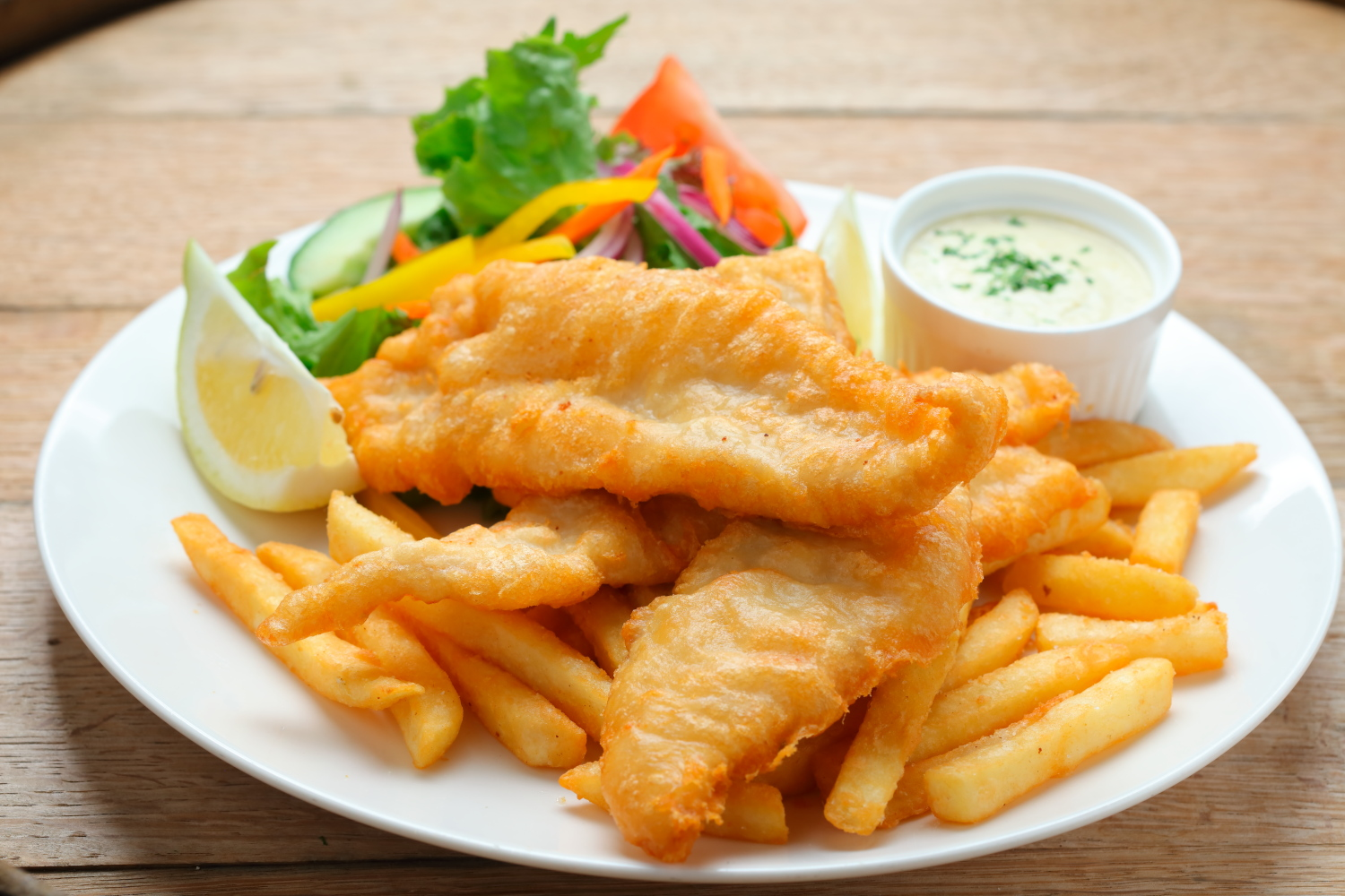 Fish & Chips - Great Ocean Road Brewhouse -Apollo Bay