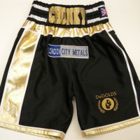James DeGale Denmark Boxing Shorts & T-Shirt