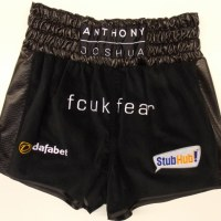 Anthony Joshua Black Boxing Shorts & Jacket