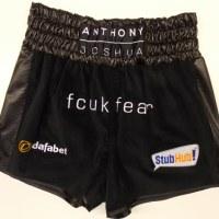 Anthony Joshua Black Boxing Shorts & Jacket
