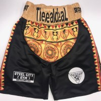 African Boxing Shorts Suzi Wong Custom Made