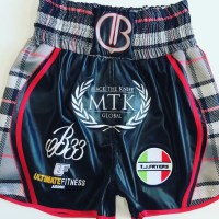 Brophy Scottish Tartan Boxing Shorts