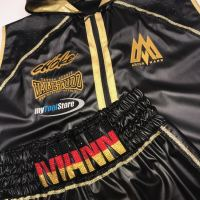 Arthur Mann Black German Boxing Ringwear