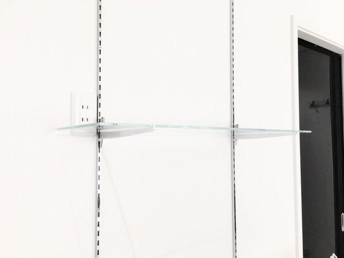 こだまガラスのガラス棚