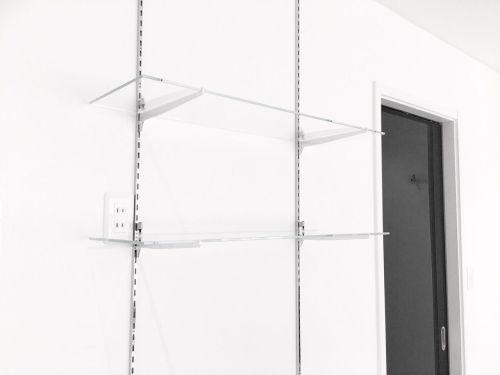こだまガラスのガラス棚2枚