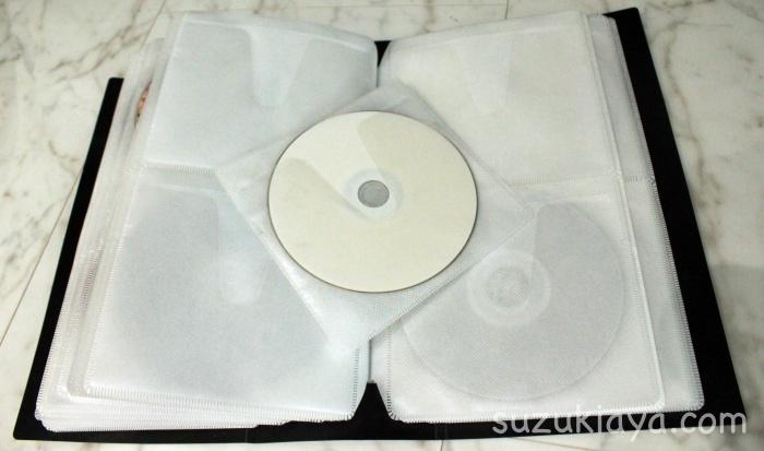 使いにくいファイル型DVD収納ケースをアレンジする!不織布を1枚ずつ切る