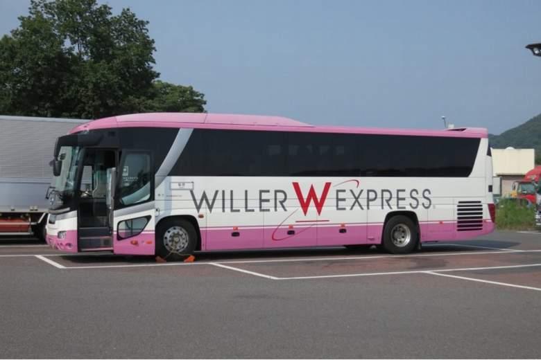 WILLER TRAVELのバス