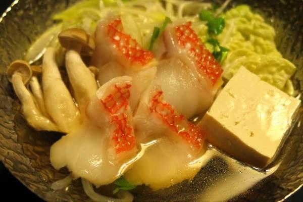 吉次の鍋 添え野菜