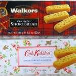 ショートブレッドフィンガー(クッキー)は「Walkers」「Cath Kidston」どっちが美味しいか食べ比べてみた