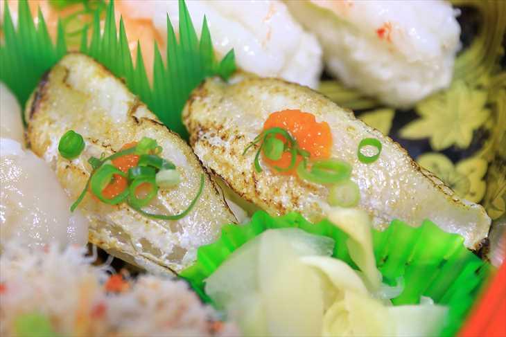 お寿司 炙りのどぐろ