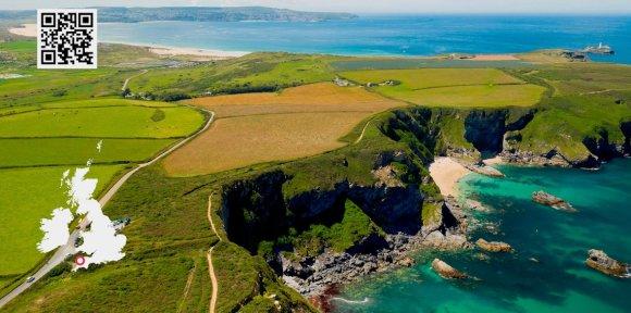 Cornwall coastal roads