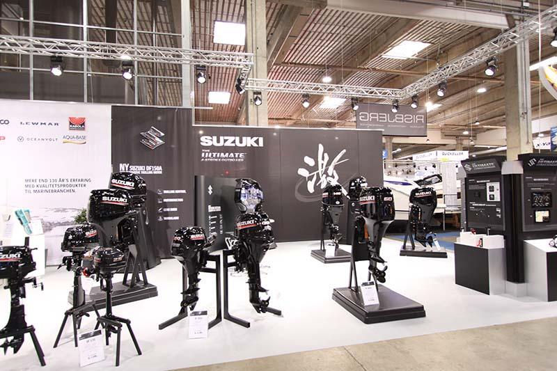 Suzuki på Boat Show 2019