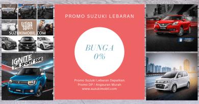 Promo Lebaran Suzuki Mobil