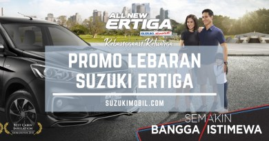 Promo Lebaran Suzuki Ertiga