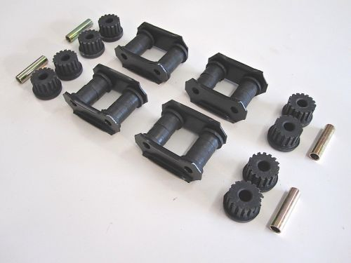 Qty-4-Leaf-Spring-Shackles-Bushings-Spacers-OEM-Suzuki-Samurai-86-95-292430909790-3