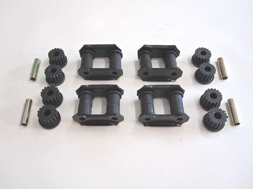 Qty-4-Leaf-Spring-Shackles-Bushings-Spacers-OEM-Suzuki-Samurai-86-95-292430909790