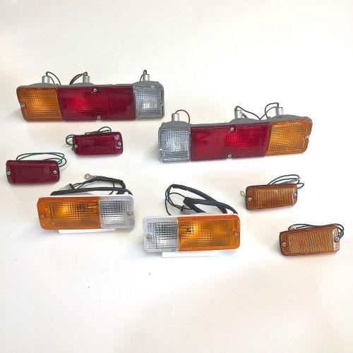 Brake-Light-Tail-Turn-Side-Marker-Lights-Suzuki-Samurai-86-95-ATLGA-302630047122