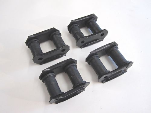 Qty-4-Leaf-Spring-Shackles-Bushings-Front-Rear-OEM-Suzuki-Samurai-86-95-292430909775