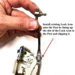 CLEARANCE-Door-Lock-Latch-Mechanism-Passenger-Side-RH-Suzuki-Samurai-86-90-292431606456-5